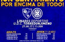 El Linares – Torredonjimeno se diputará el domingo por la mañana