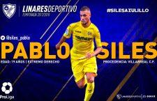 El Linares Deportivo ficha a Pablo Siles, procedente del Villarreal CF