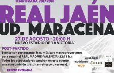 El Real Jaén-Maracena, que se disputará el domingo, tendrá un 'tercer tiempo'