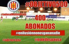El UDC Torredonjimeno llega a los 400 abonados en la campaña 17-18