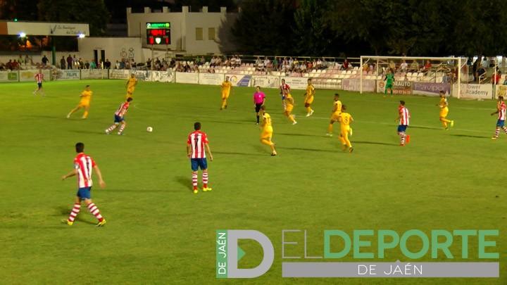 El Torredonjimeno sucumbe ante la superioridad del Atlético Malagueño