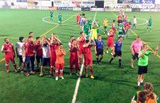 El Martos vence al Atlético Mancha Real en un festival de goles