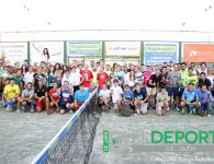 Entrega de trofeos en el Torneo de Pádel 'Ciudad de Úbeda'