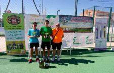 Villargordo acogió el Torneo VIII de Nivel-1 del Circuito 2017 Andalucía Tenis Tour