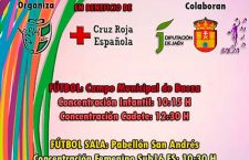 Baeza acoge este miércoles una jornada solidaria de fútbol y fútbol sala a beneficio de Cruz Roja