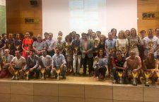 Entregados los trofeos del Gran Premio de Carreras Populares 'Jaén, pararaíso interior'