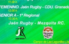 Los equipos del Jaén Rugby afrontan un intenso fin de semana de partidos