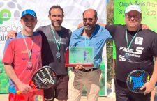 Los veteranos de Jaén destacan en el pádel andaluz