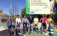 El Plan Andaluz de la Bicicleta contará con seis actuaciones en la provincia de Jaén