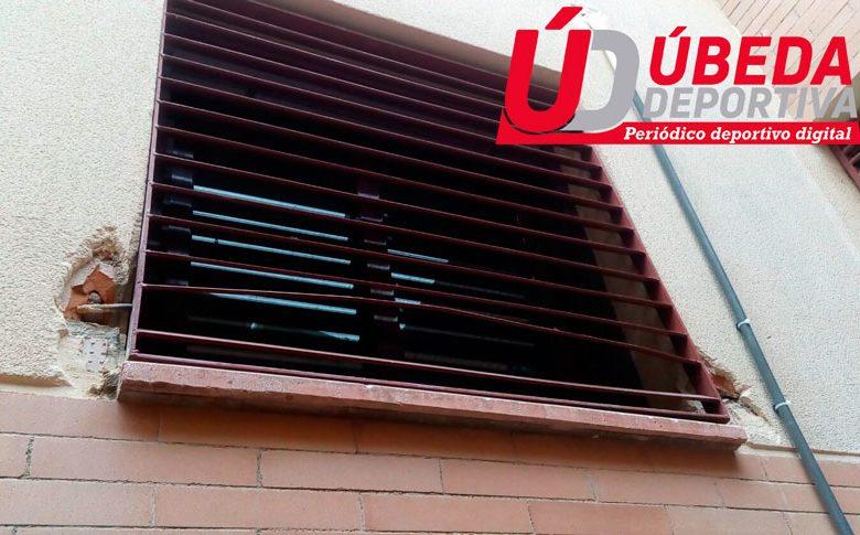 El CD Úbeda Viva sufre un robo en sus oficinas