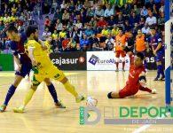 El Barça rompe la racha de un gran Jaén FS en La Salobreja