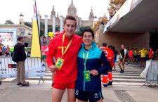 Alberto Casas y Lola Chiclana quedan segundos en la Jean Bouin de Barcelona