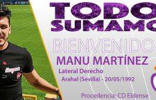 Manu Martínez se incorpora al Real Jaén