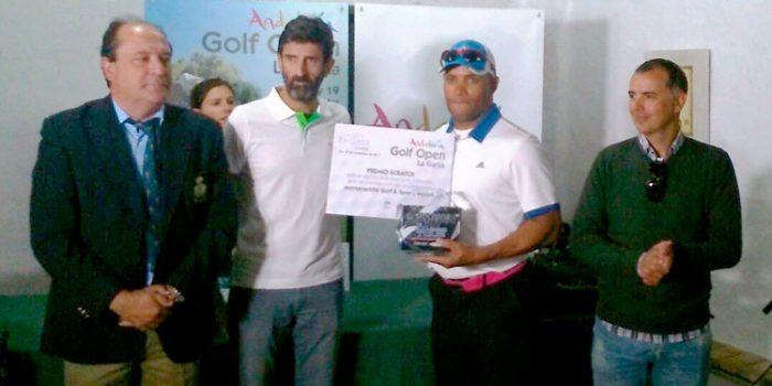 Nataniel Reinoso triunfa en el Andalucía Golf Open La Garza