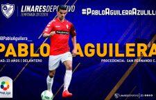 Pablo Aguilera, nuevo jugador del Linares Deportivo