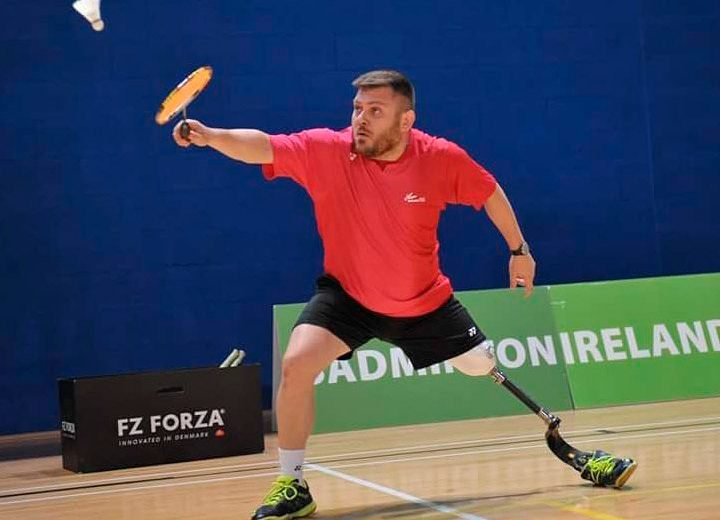 Simón Cruz, listo para disputar el Mundial de Bádminton Paralímpico de Ulsan