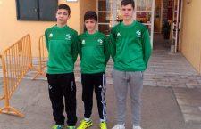 La Selección Andaluza convoca a tres jiennenses para el Nacional Infantil de balonmano