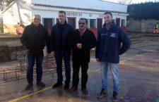 Las instalaciones deportivas de Chilluévar reciben una serie de mejoras
