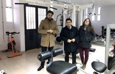 Diputación invierte más de 15.000 euros para equipar un gimnasio y un parque infantil de la pedanía de Garcíez