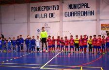 Guarromán acogió a un centenar de pequeños en torno a la II Concentración BB de fútbol sala