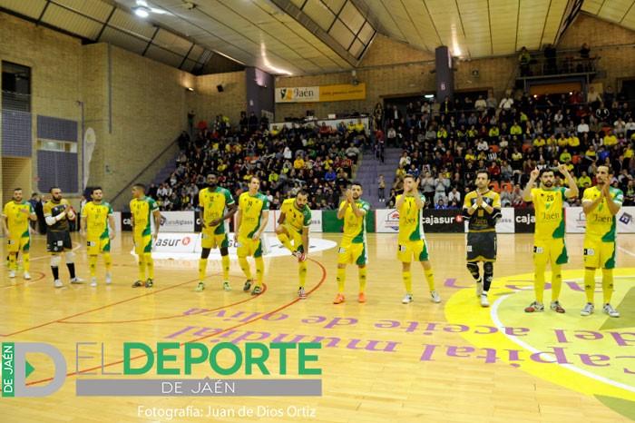 El Jaén FS finaliza este martes la primera vuelta de liga ante el Aspil Vidal