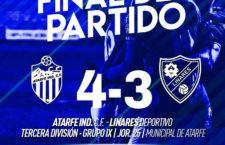 El Linares Deportivo cae en el intercambio de golpes ante el Atarfe