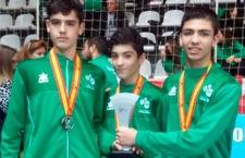 Plata para los tres jiennenses que han disputado el Nacional de balonmano