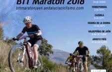 Fijadas las fechas para la Copa Diputación de Jaén, BTT Maratón