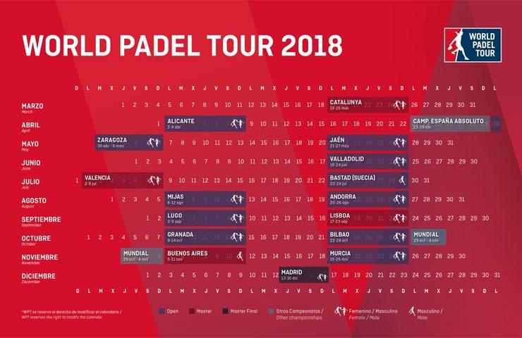 world padel tour en el open jaen el próximo mes de mayo