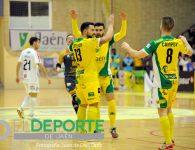 El Jaén FS golea al Segovia en un partido de impulsos
