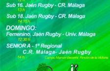 El Jaén Rugby vuelve a la carga con una completa jornada de partidos en casa