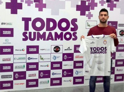 Mario Martos regresa al Real Jaén