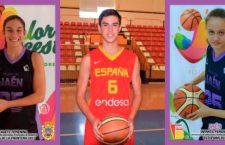 Tres jiennenses participan en el Nacional de Selecciones Autonómicas de baloncesto