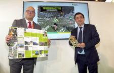 Diputación expone en Fitur el programa 'Turismo activo' para potenciar los recursos naturales de Jaén