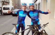 Tercer puesto para Triki Beltrán y Víctor Manuel Fernández en la Val Serena Bike Race