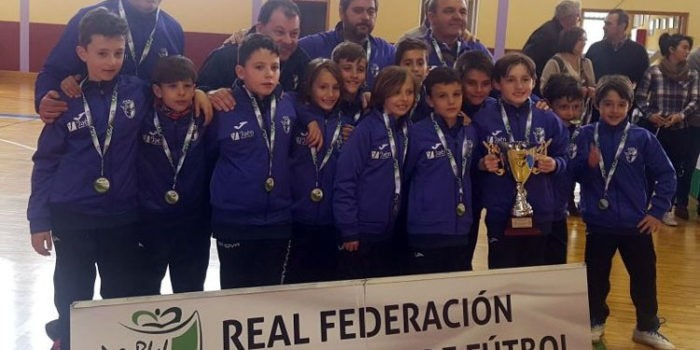 Los benjamines de fútbol sala, terceros en el Andaluz de selecciones provinciales