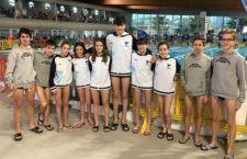 Las chicas del CN Santo Reino logran la quinta posición en el Andaluz de Invierno
