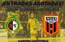 Agotadas las entradas para la vuelta de la Copa del Rey en La Salobreja