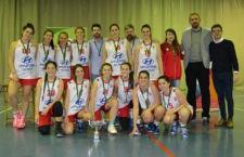 Las chicas del Jaén CB, campeonas provinciales en categoría Sénior