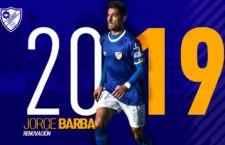 Jorge Barba renueva con el Linares Deportivo hasta el 2019