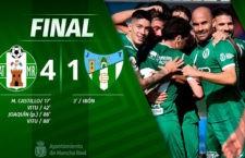 El Atlético Mancha Real remonta y golea al Torremolinos