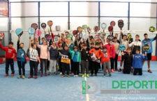Padel Center Úbeda acogió a un numeroso grupo de menores en sus jornadas abiertas
