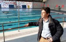 La piscina cubierta de La Salobreja, lista para su uso