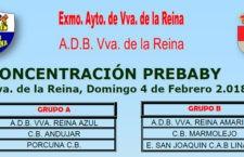 Villanueva de la Reina celebrará el próximo domingo una concentración Prebaby de baloncesto