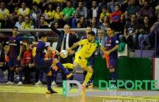 El FC Barcelona – Jaén FS de liga será televisado por Teledeporte