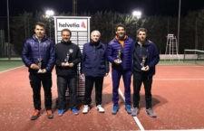 El II Torneo Helvetia congregó a cincuenta tenistas
