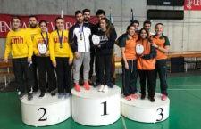 Pilar García y Carla Hernández, del Hujase CDTM Jaén, destacan en el Campeonato Universitario de la Comunidad Valenciana