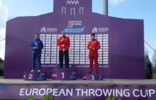 Alberto González, bronce en el Europeo de Lanzamientos sub'23