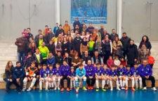 La selección jiennense alevín de fútbol sala, campeona de Andalucía