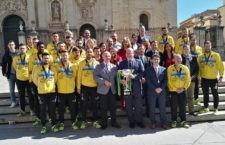 El alcalde de Jaén recibe a los campeones de la Copa de España
